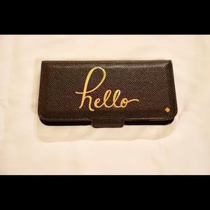 Kate Spade saffiano leather embossed iphone 6 case